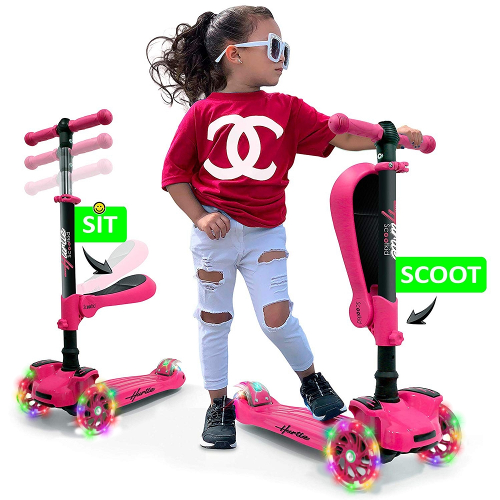 Hurtle Hurfs66 Sports And Outdoors Kids Toy Scooters