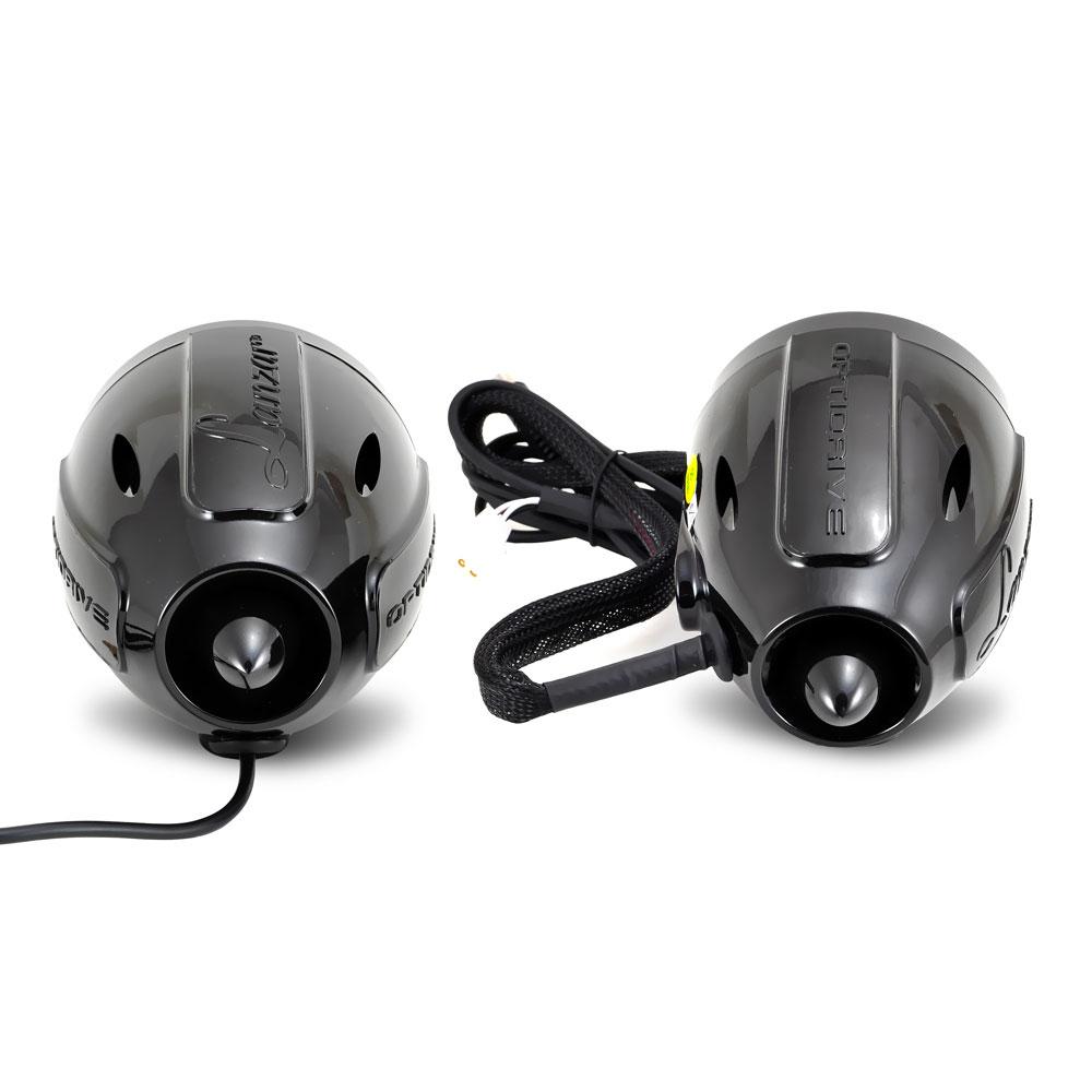 "New Lanzar OPTIAT94A 800W Motorcycle 3"" Bluetooth Speakers Kit Builtin Amplifier"