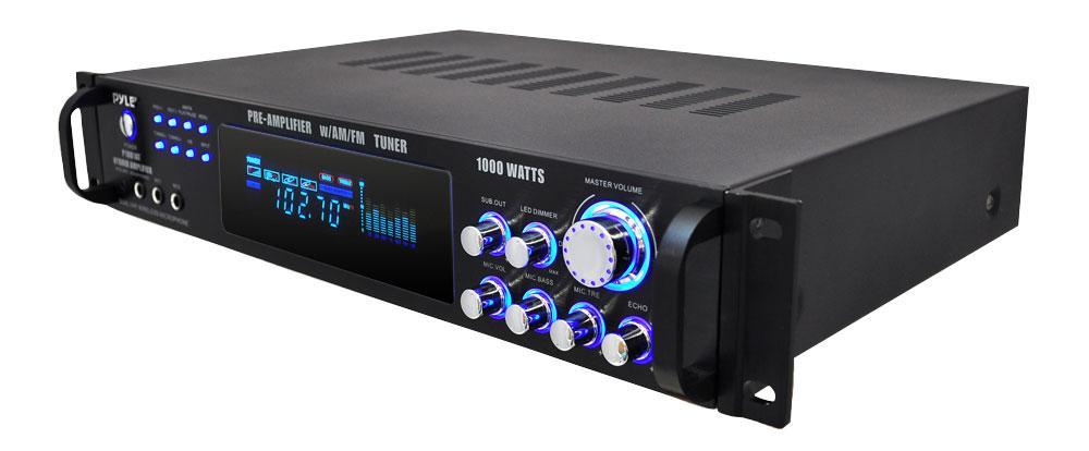 Dual Channel  Ohm  Watt Car Mini Amp