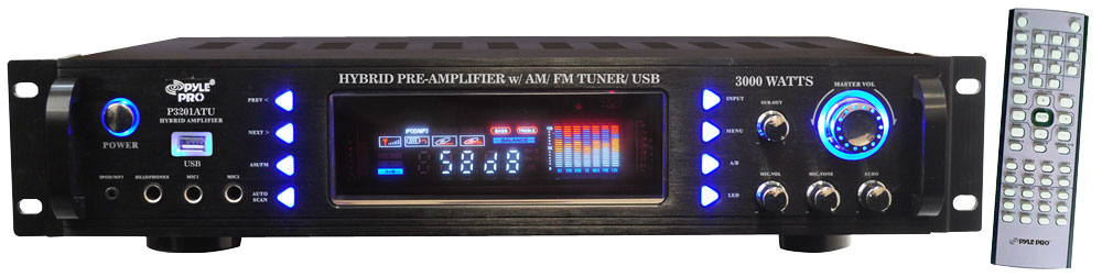 Pylepro - P3201atu - Home And Office - Amplifiers - Receivers - Sound And Recording
