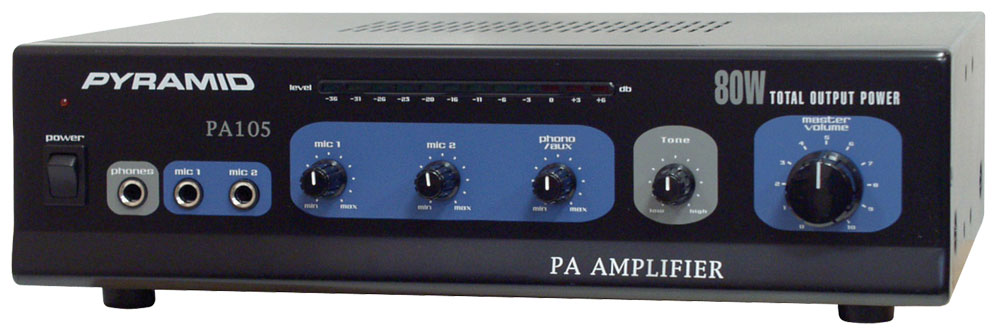 Pyramid Pa105 Sound And Recording Amplifiers Receivers