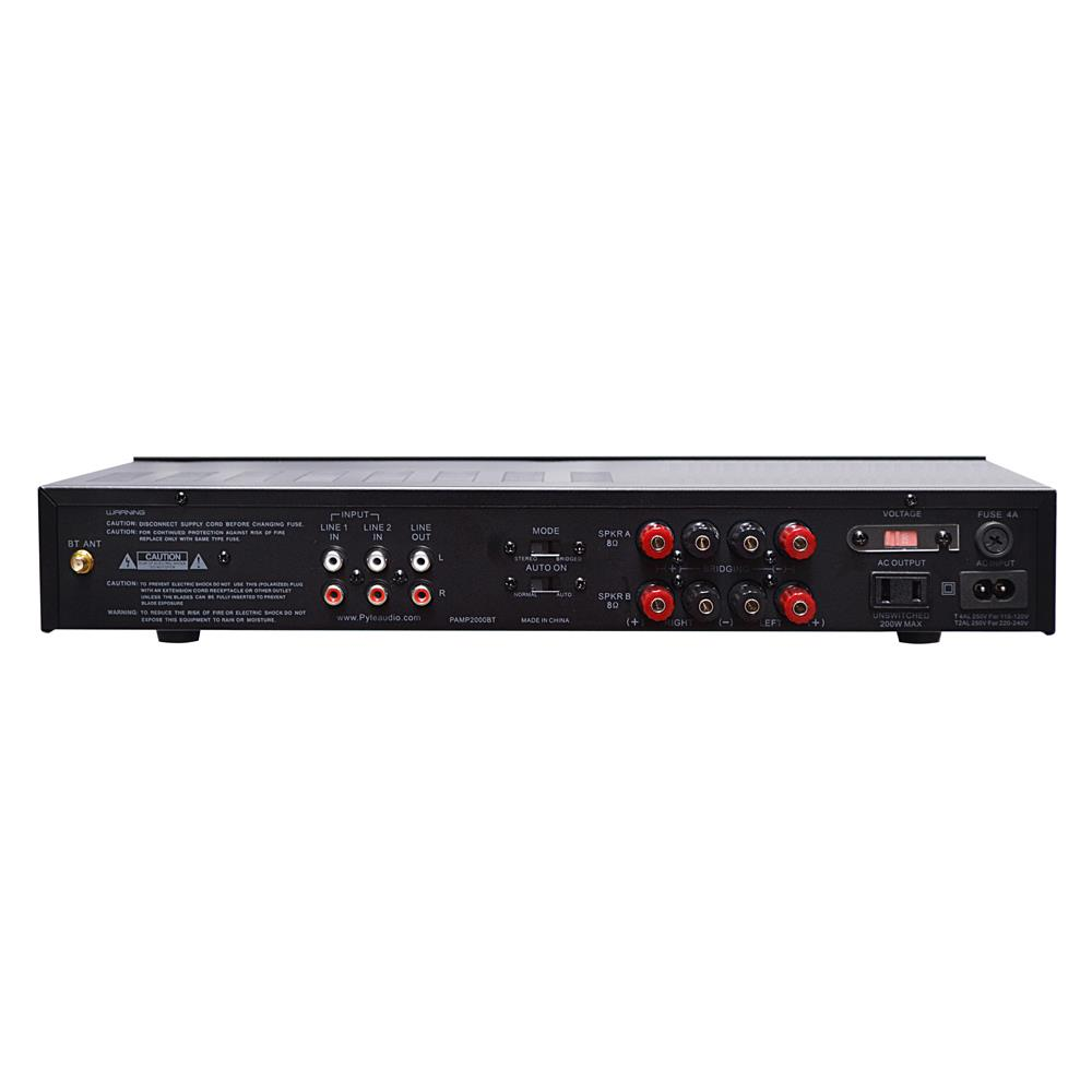 bluetooth 2 ch 200w home theater system stereo speaker amp amplifier receiver. Black Bedroom Furniture Sets. Home Design Ideas