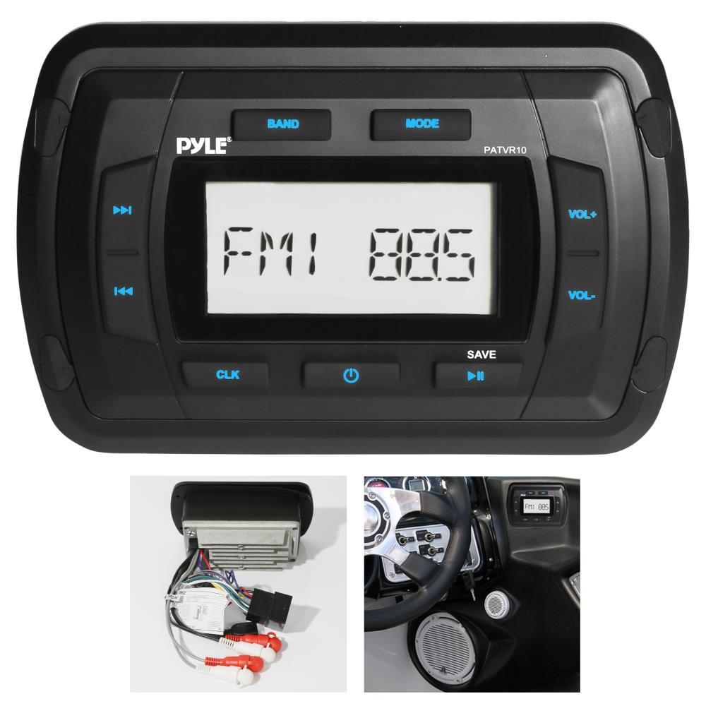 Pyle Patvr10 Marine And Waterproof Headunits
