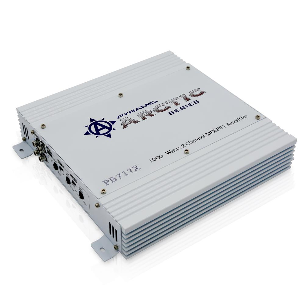 Pyramid Pb717x On The Road Vehicle Amplifiers 25 Watt Mosfet Audio Amplifier Pyle 1000 2 Channel Bridgeable