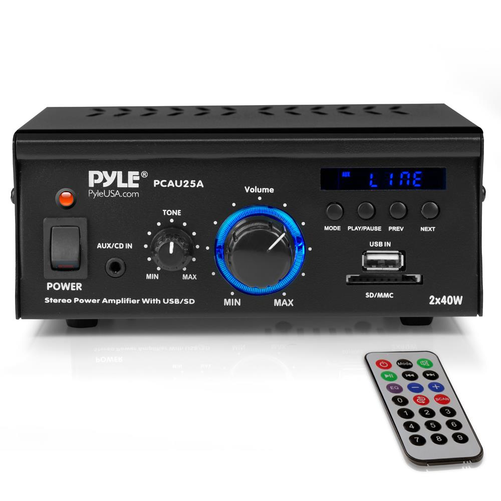 Pyle - Pcau25a - Sound And Recording - Amplifiers