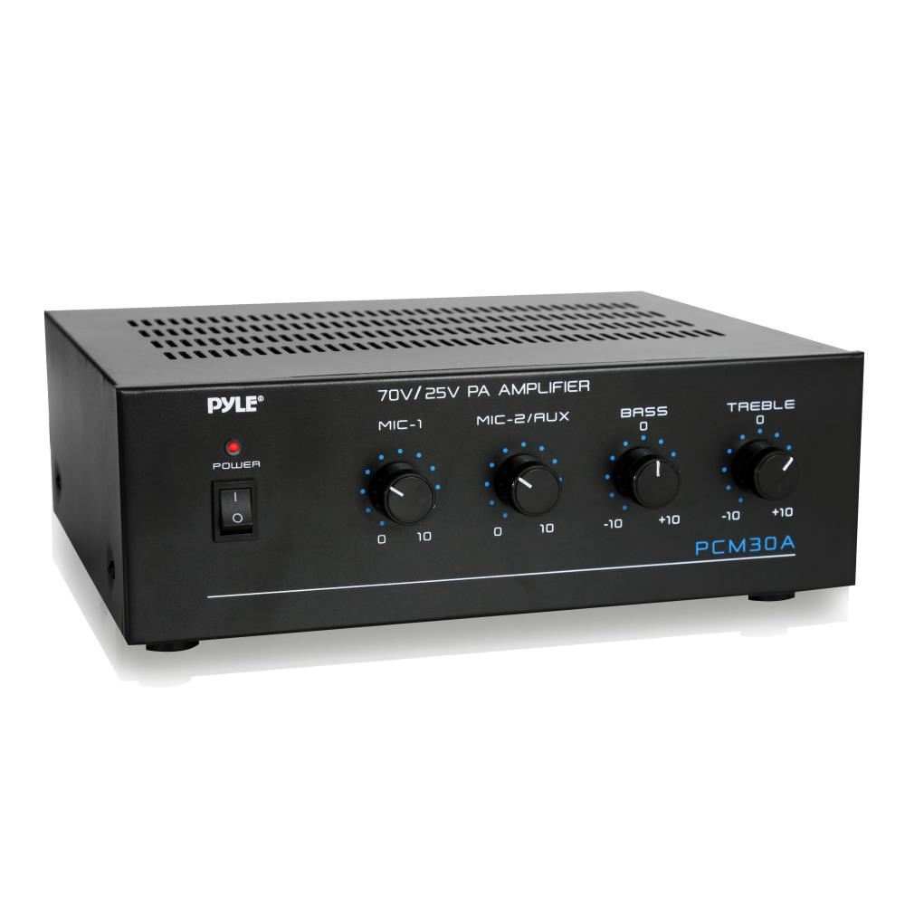 220 Volt Outlet >> PyleHome - PCM30A - Home and Office - Amplifiers ...