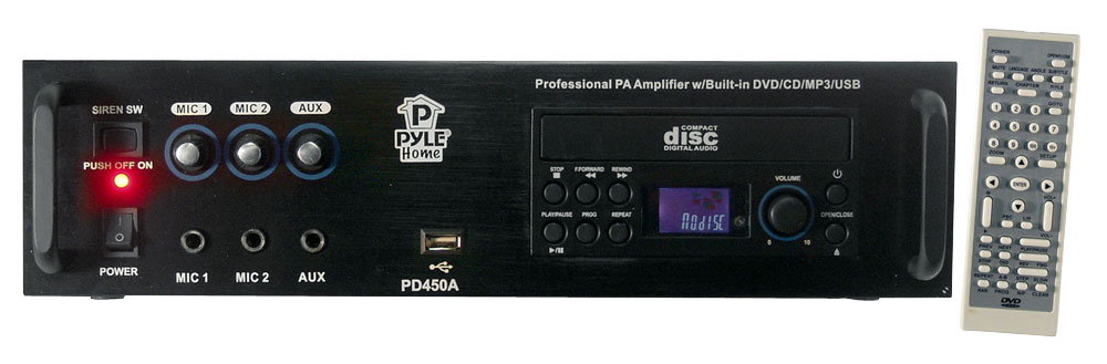Pylehome - Pd450a - Home And Office - Amplifiers - Receivers - Sound And Recording