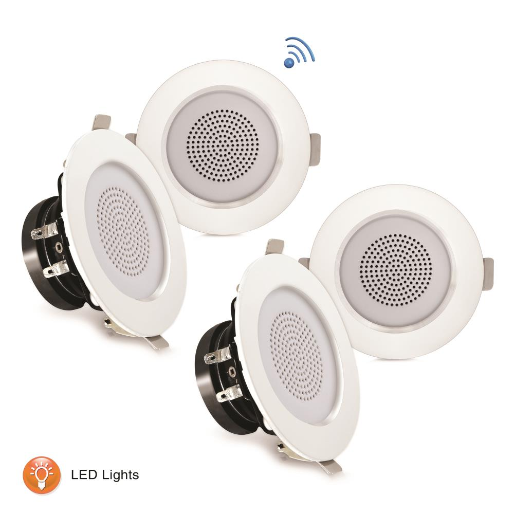 Pyle Pdic4cbtl3b Home And Office Home Speakers