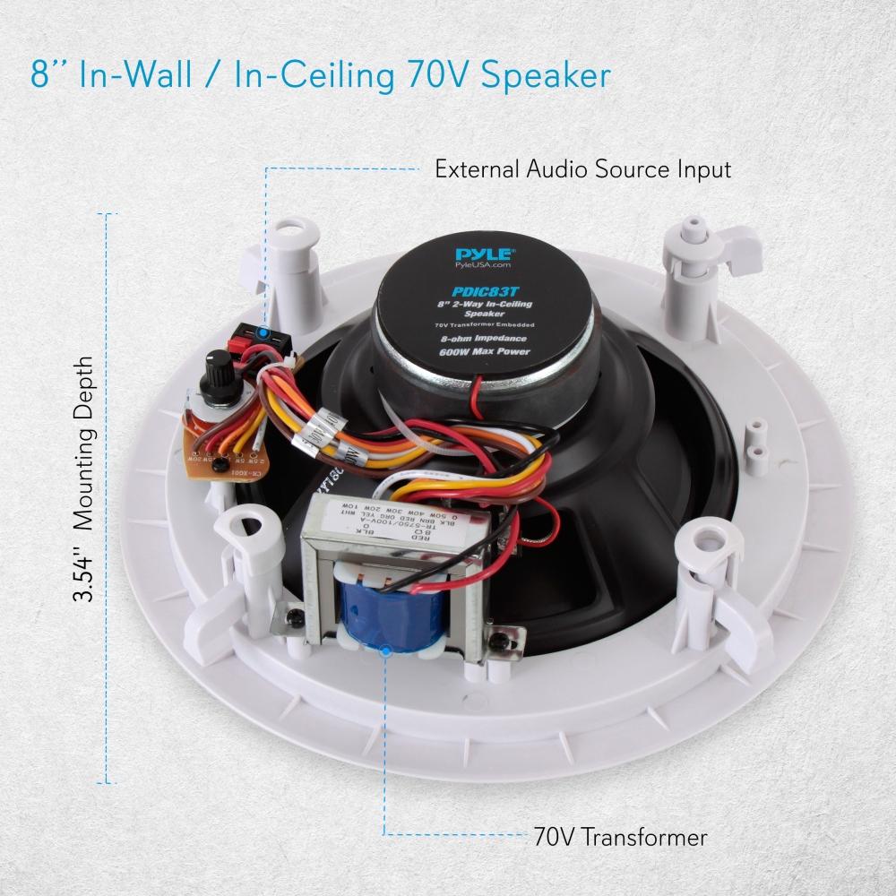 70v Speaker Wiring Diagram Ceiling