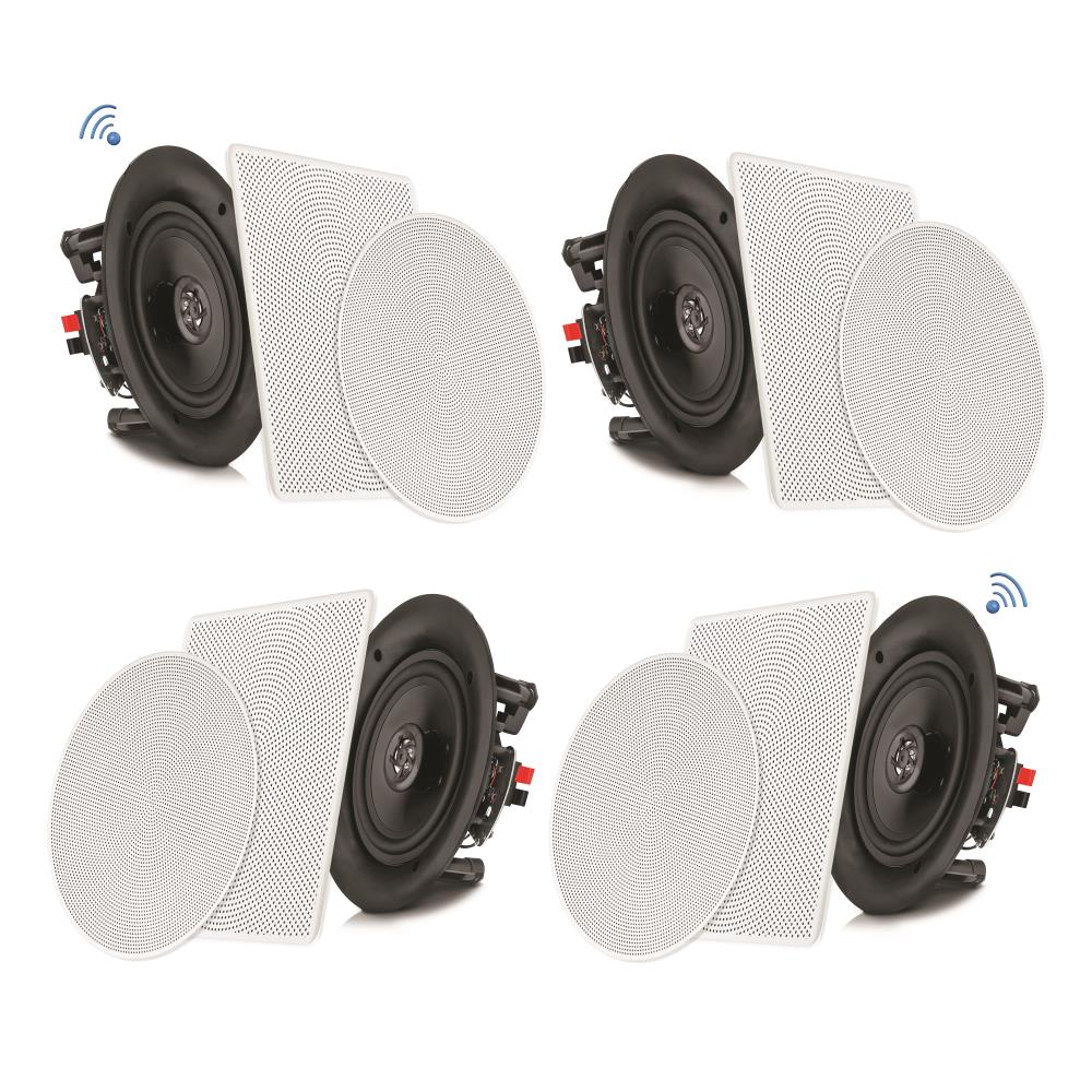Pyle Pdicbt256 Sound And Recording Home Speakers 5 25 Bluetooth Ceiling