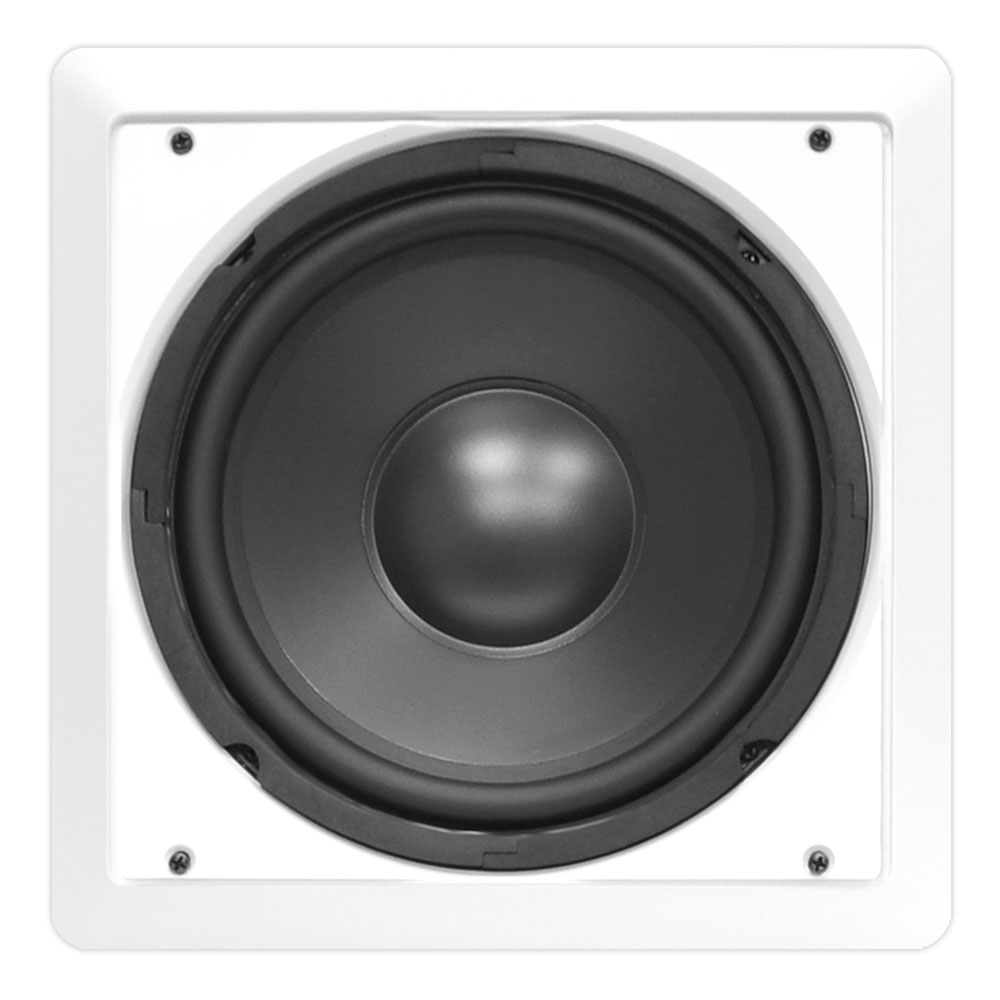 Pyle in wall 12 subwoofer speaker for home office house for 12 inch floor speakers