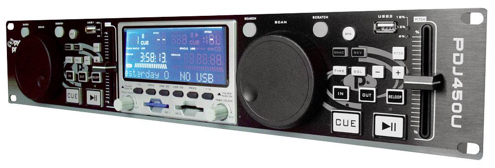 Pylepro Pdj450u Musical Instruments Mixers Dj