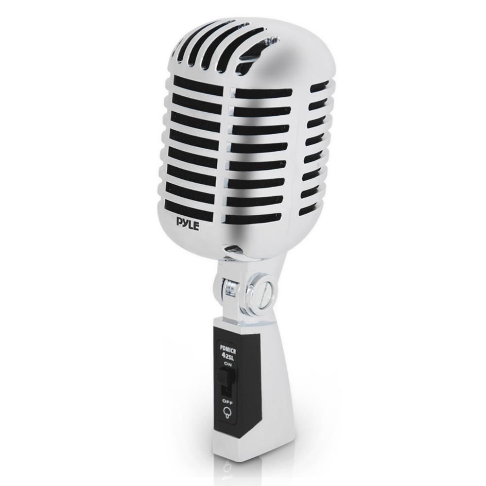 Pylepro pdmicr42sl home and office microphones for Classic house vocals acapella