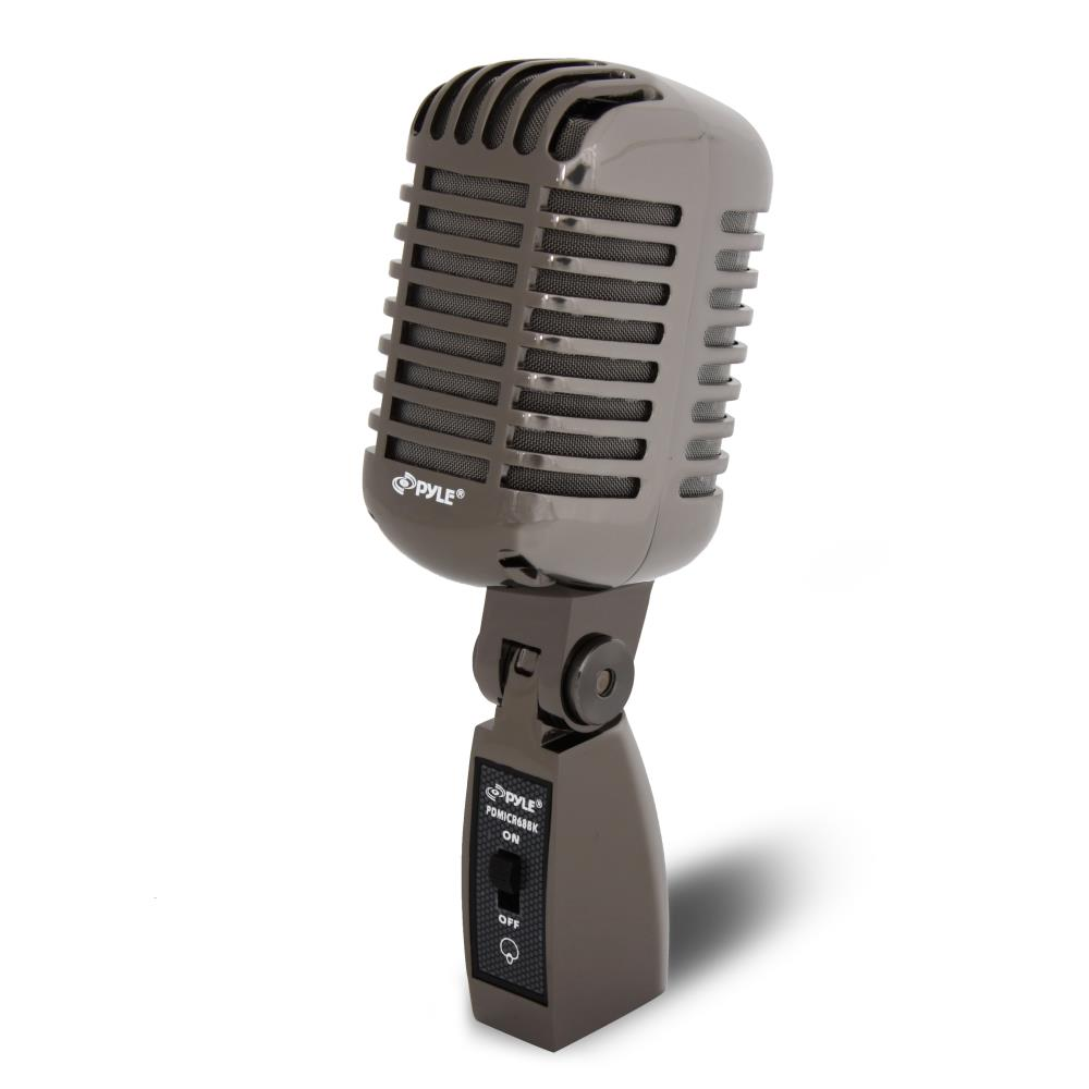 Pylepro pdmicr68bk home and office microphones for Classic house vocals acapella