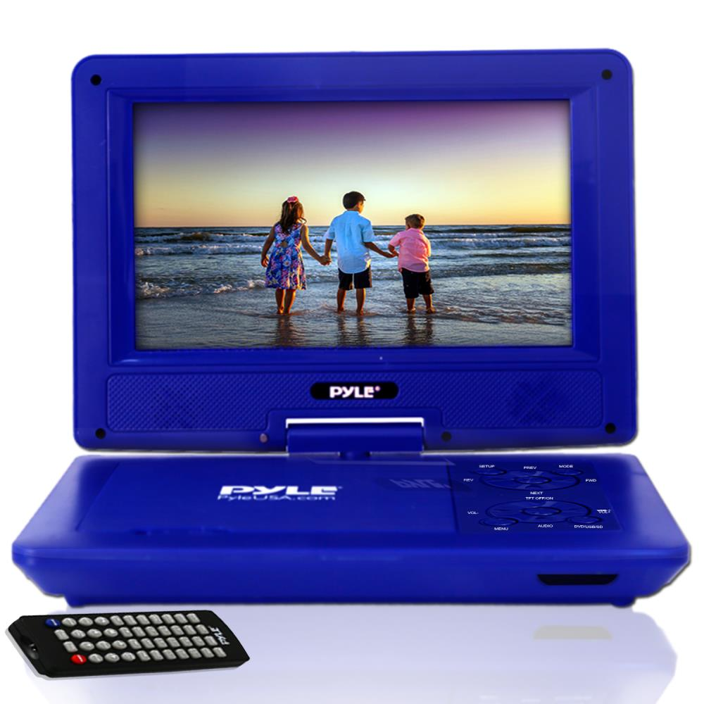 Pyle Pdv91bl Home And Office Portable Dvd Players
