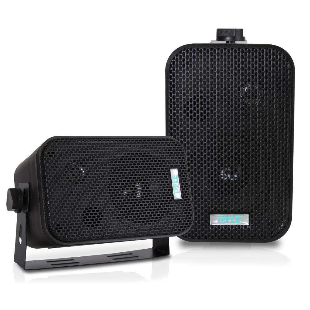 Pylehome Pdwr30b Marine And Waterproof Home Speakers
