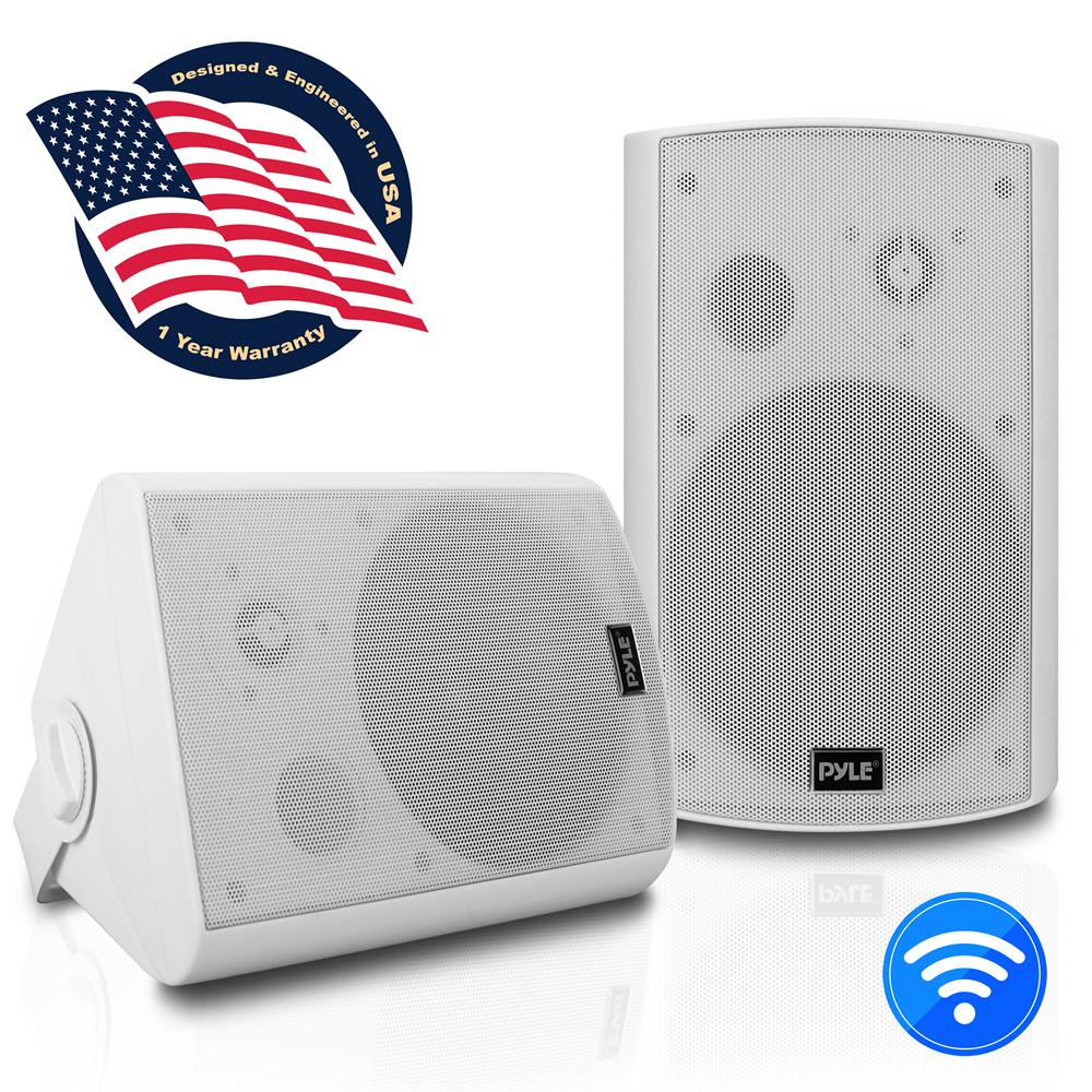 Pyle Pdwr61btwt Used Home And Office Home Speakers
