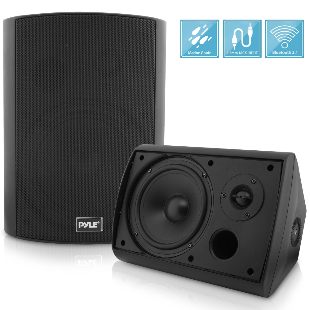 Pyle Pdwr62btbk Used Home And Office Home Speakers