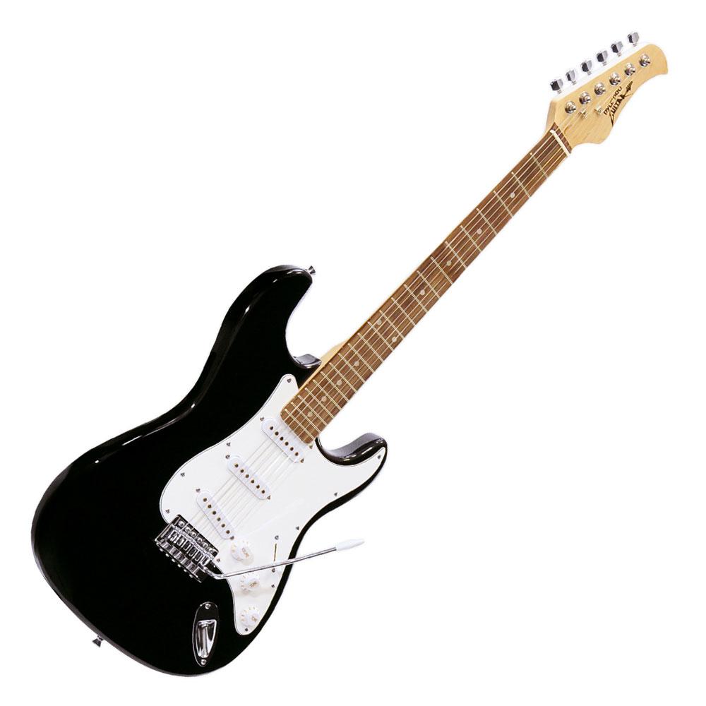 beginner pyle electric guitar package starter kit set with amp amplifier black 68888981095 ebay. Black Bedroom Furniture Sets. Home Design Ideas