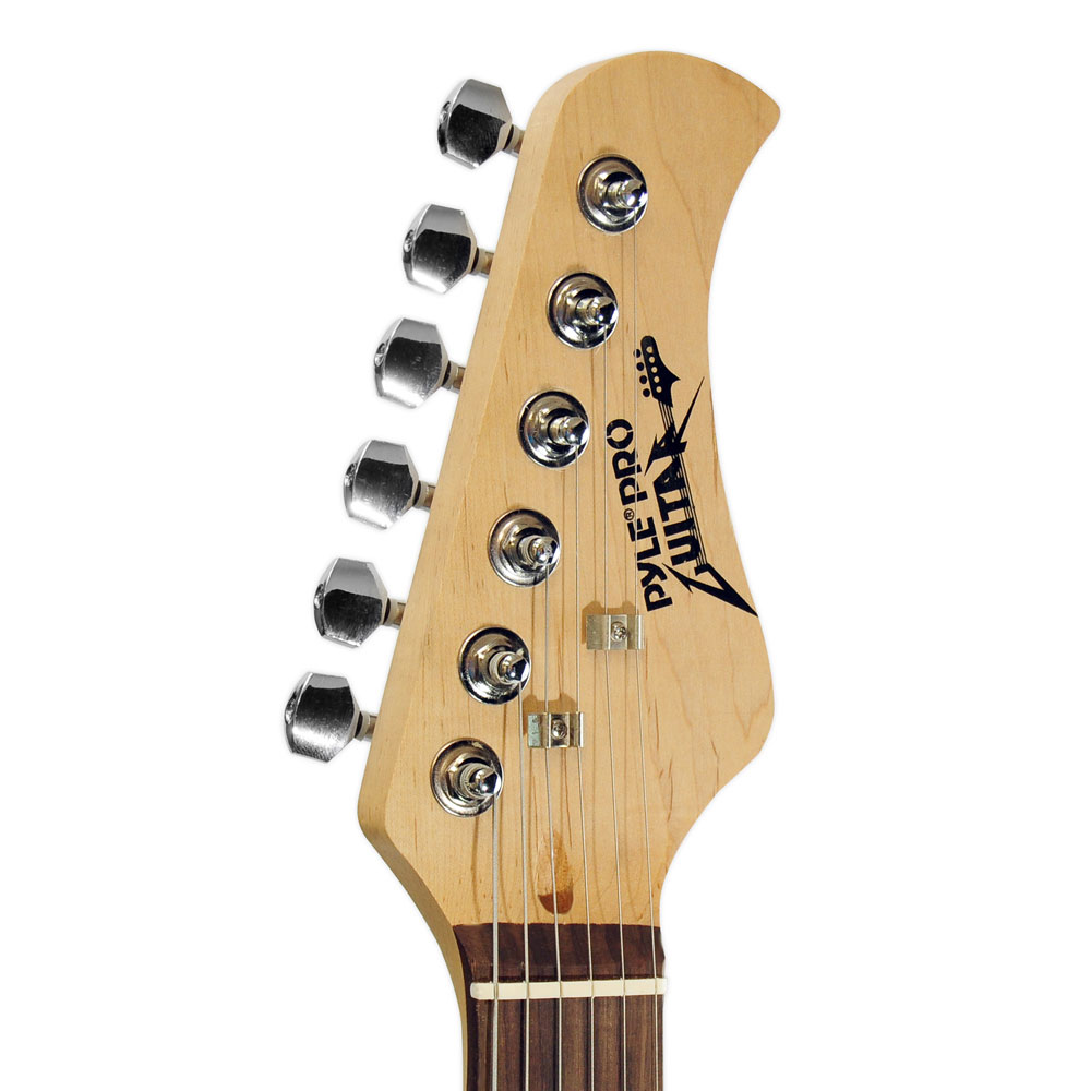 new pylepro pegkt15r beginner electric guitar package red guitar amplifire 68888981125 ebay. Black Bedroom Furniture Sets. Home Design Ideas
