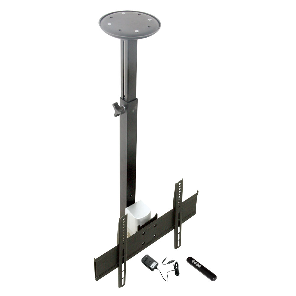 Pylehome petr104 home and office mounts stands for Motorized ceiling tv mount