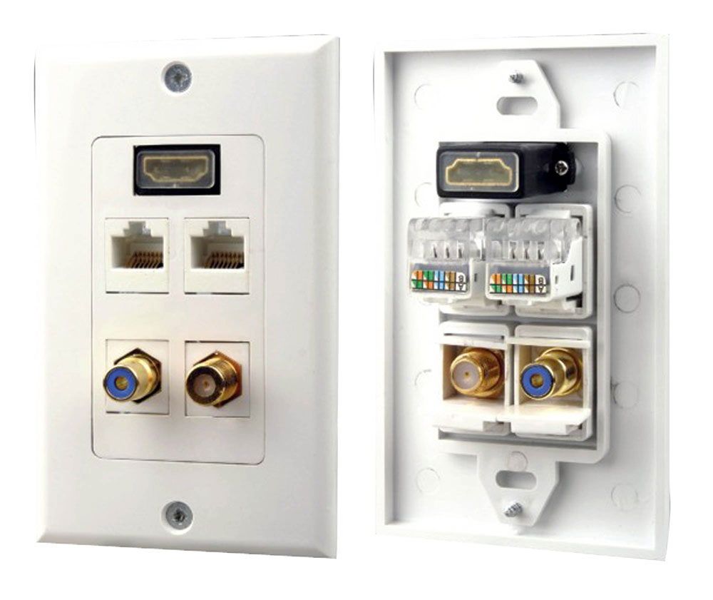 Pylehome Phdm2rjrf1 Tools And Meters Wall Plates