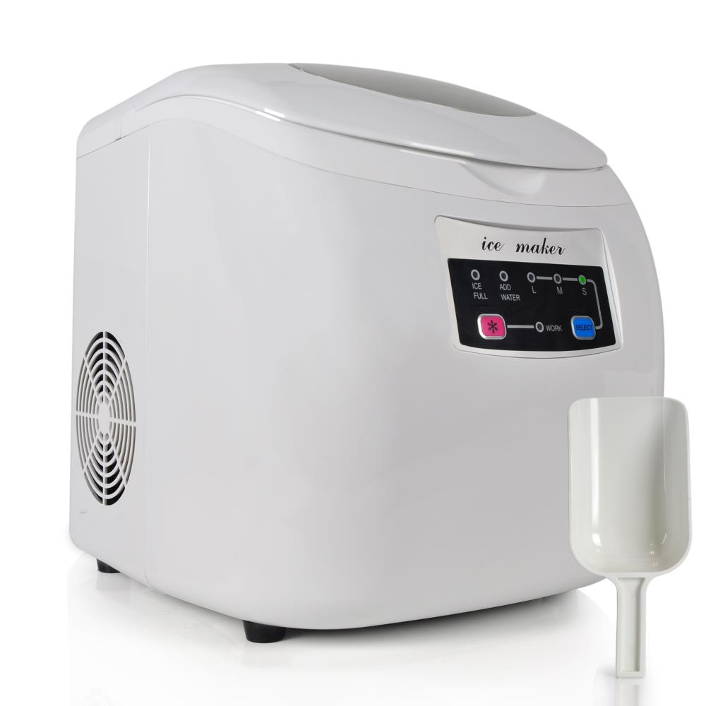 Countertop Ice Maker Soft Ice : ... Ice Maker, Countertop Ice Cube Making Machine (3 Sizes of Ice Cubes