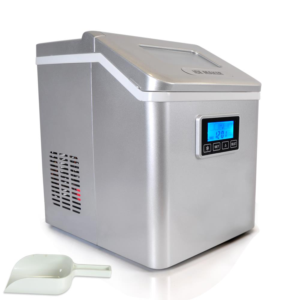 Countertop Ice Maker Soft Ice : ... Ice Maker, Electric Countertop Ice Cube Making Machine (with Direct