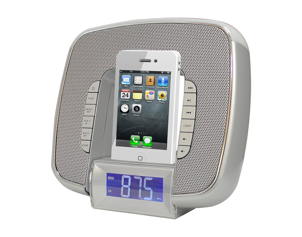 Office Radios. Pyle   Picl29s , Home And Office Alarm Clock Radios Plug In