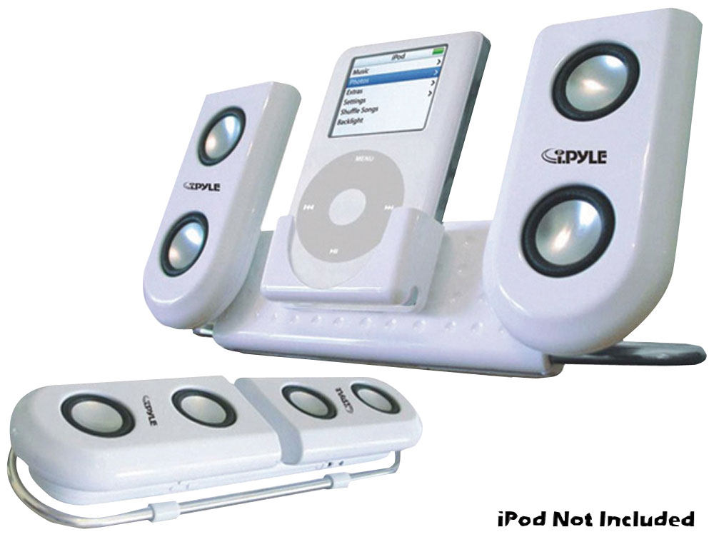 office speaker system. Pyle - PIP10 , Home And Office Alarm Clock Radios Plug-in Speakers Speaker System