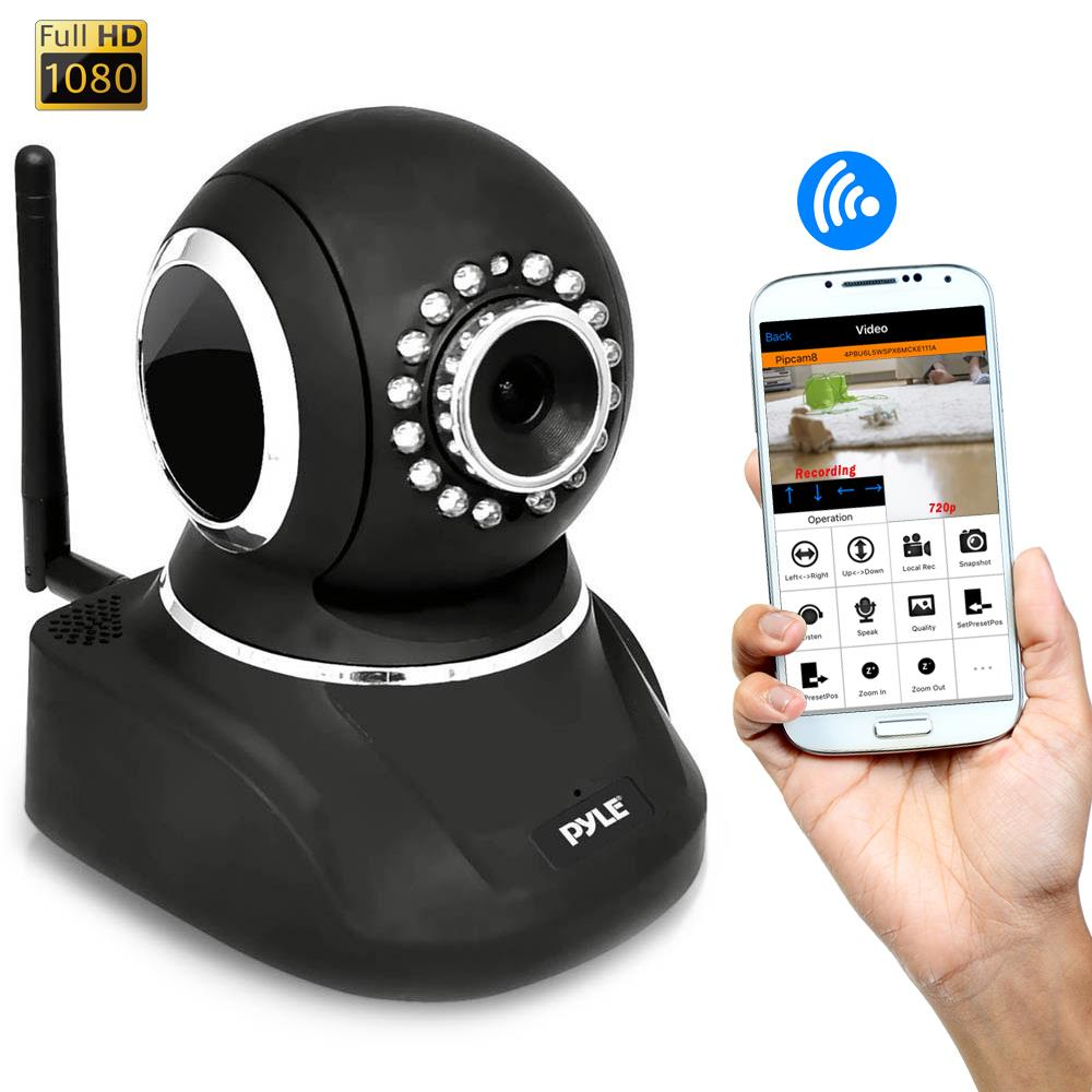 Pylehome Pipcamhd82bk Home And Office Cameras