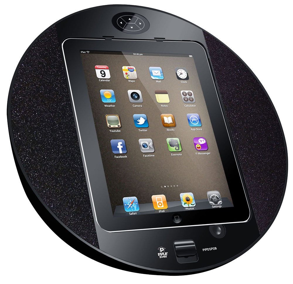 office radios. Pyle - PIPDSP2B , Home And Office Alarm Clock Radios Plug-in Speakers
