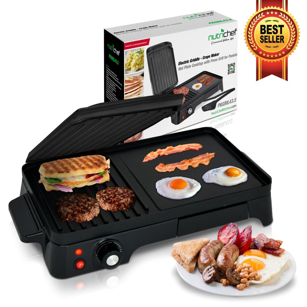 Nutrichef Pkgril43 Kitchen Amp Cooking Cooktops Amp Griddles