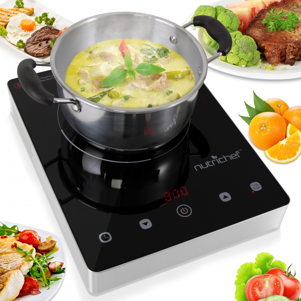 Ceramic Countertop Stove : ... Ceramic Cooktop, Electric Countertop Glass Burner Cooker, Stainless