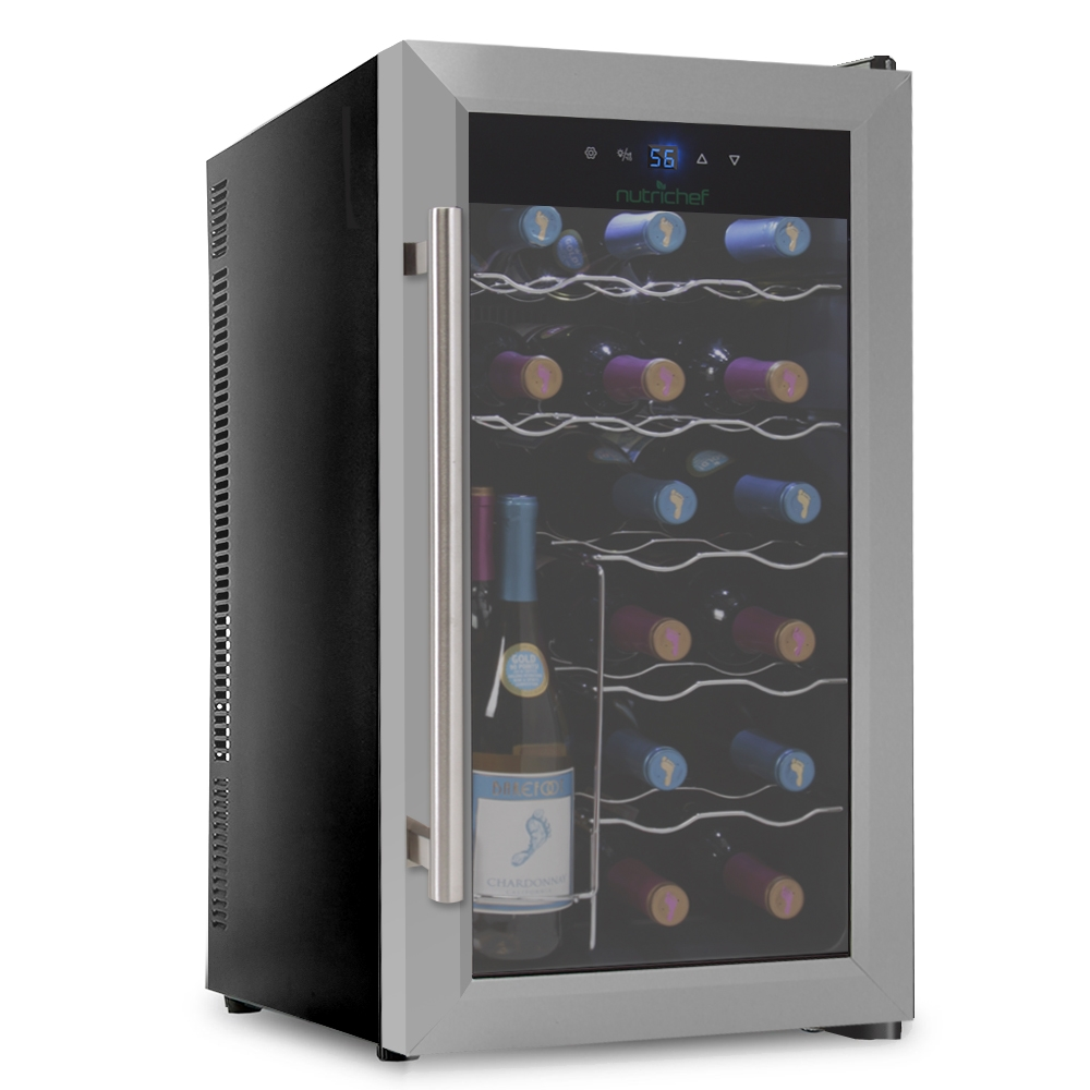Wine Refrigerator Reviews >> NutriChef - PKTEWC18 - Kitchen & Cooking - Fridges & Coolers