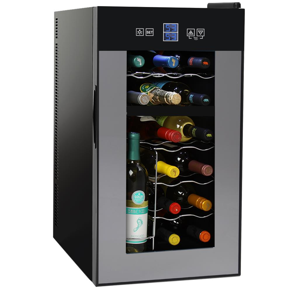 wine home image product small bottle thermoelectric strata by monoprice countertop cooler