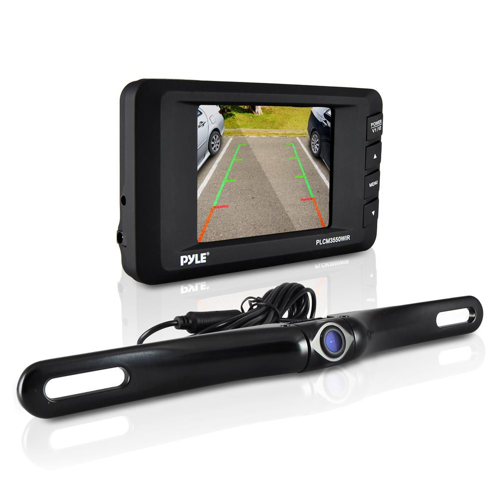 Pyle Backup Camera >> Pyle - PLCM3550WIR - On the Road - Rearview Backup Cameras - Dash Cams