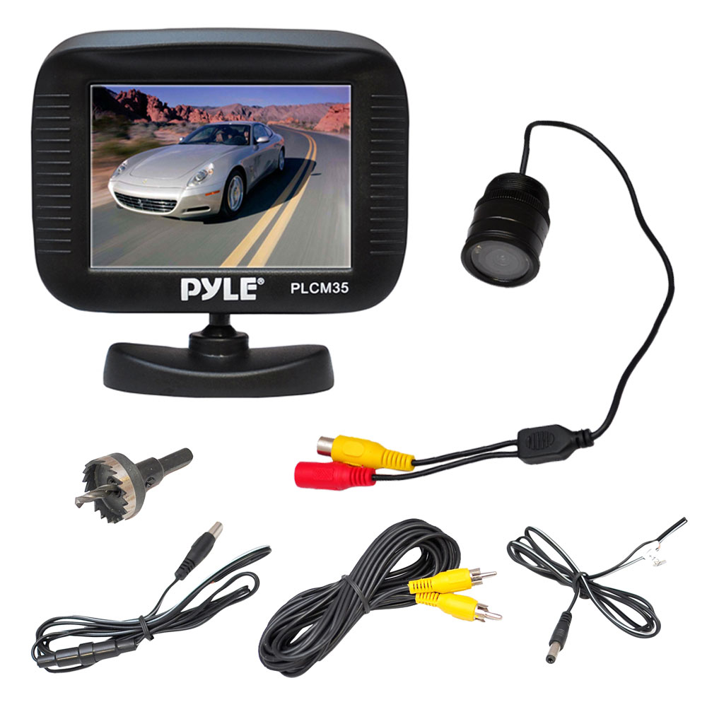 Pyle Backup Camera >> Pyle Plcm35r On The Road Rearview Backup Cameras Dash Cams