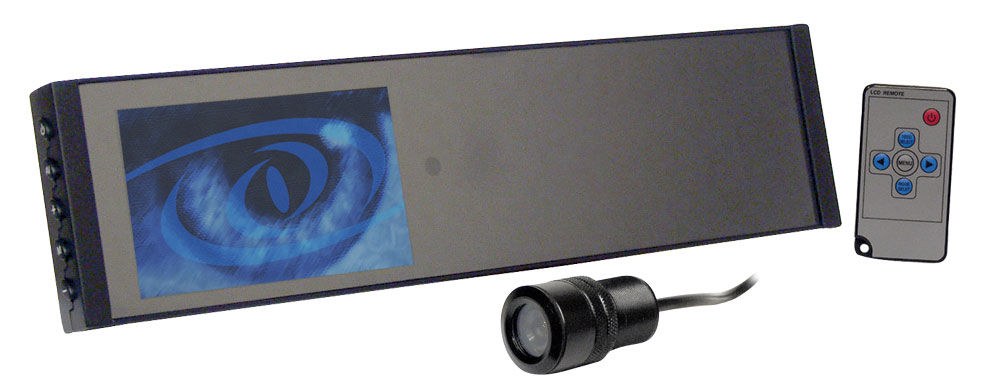 Monitor System W// Camera /& Remote Pyle 4.2/'/' TFT Rear View Backup Mirror