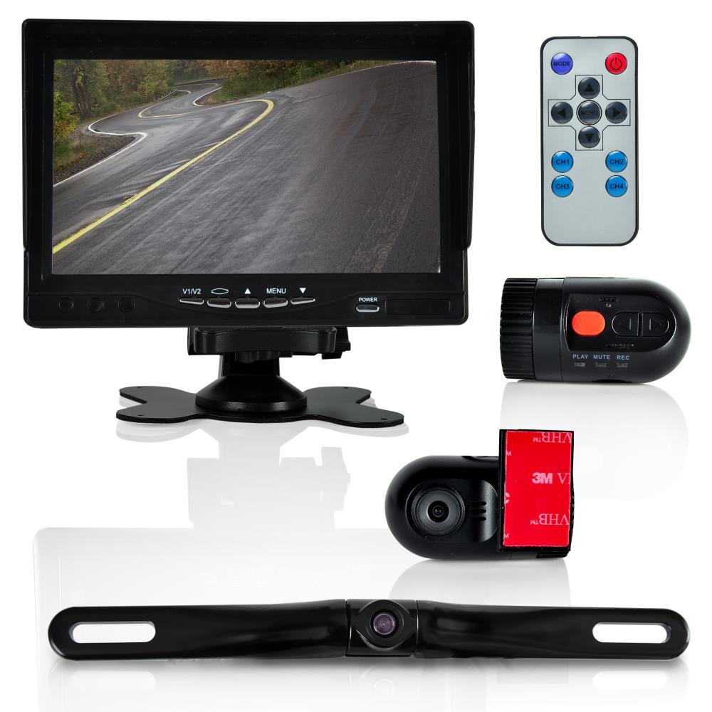 pyle plcmdvr72 on the road rearview backup cameras dash cams. Black Bedroom Furniture Sets. Home Design Ideas