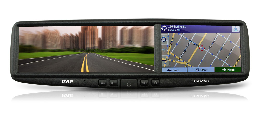 Pyle - PLCMDVR7G - On the Road - Rearview Backup Cameras - Dash Cams