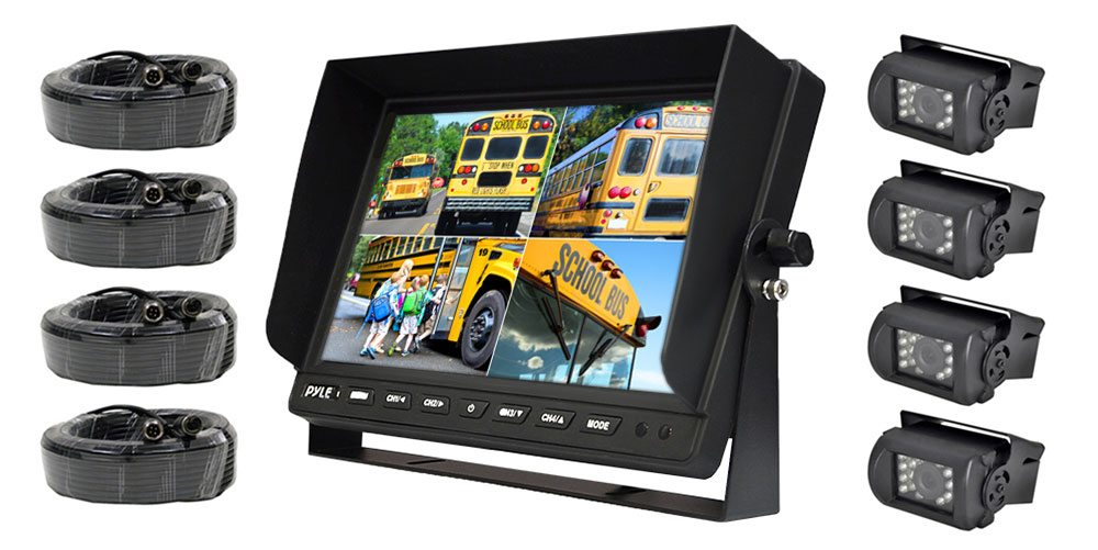 Pyle Plcmtr104 On The Road Rearview Backup Cameras