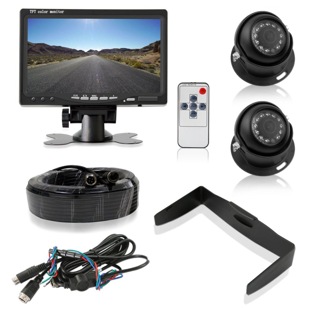 Pyle Plcmtr7250 On The Road Rearview Backup Cameras