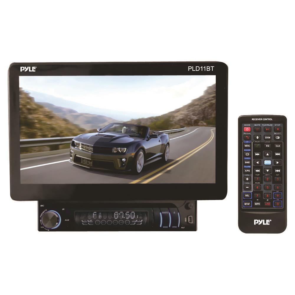 "Pyle - PLD11BT , On the Road , Headunits - Stereo Receivers , 10.1""  Bluetooth"