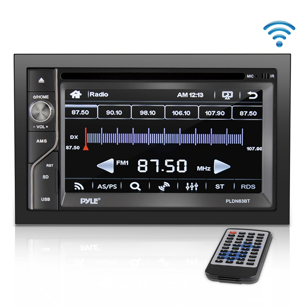 Pyle - PLDN63BT , On the Road , Headunits - Stereo Receivers , 6.5''