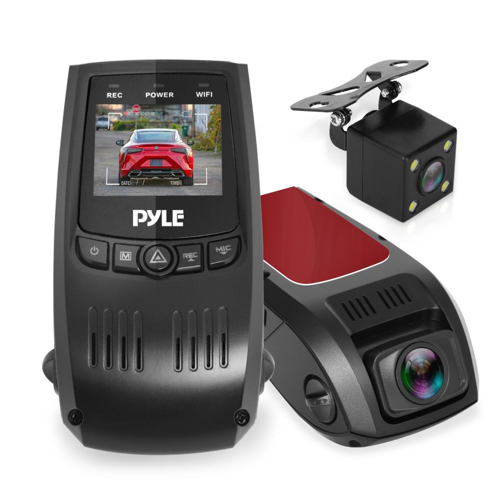 Pyle Pldvrcam74 On The Road Rearview Backup Cameras