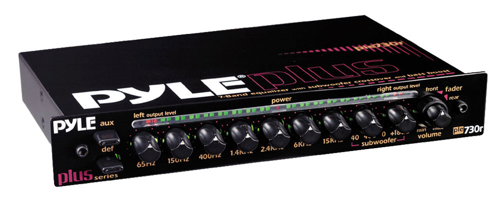 Pyle - PLE730R - On the Road - Equalizers - Crossovers
