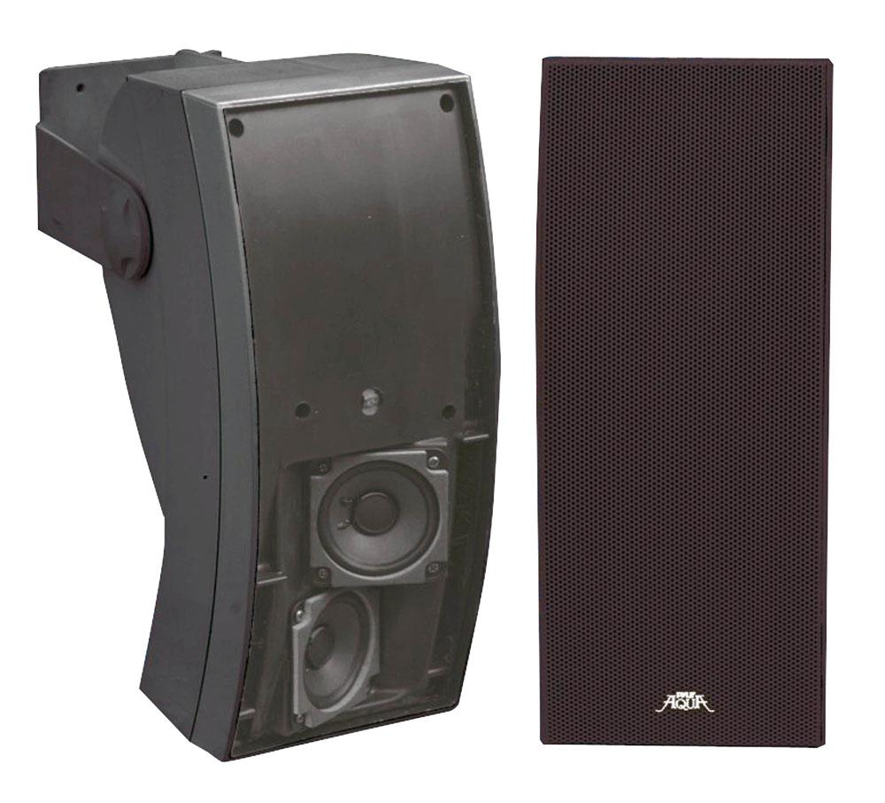Pyle plmr64b marine and waterproof weatherproof speakers for Woofer speaker system