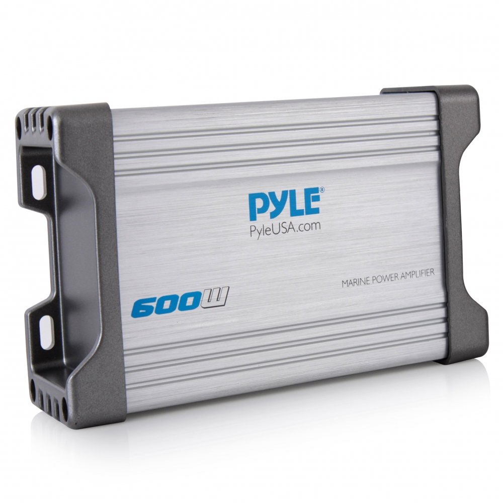 Pyle - PLMRMP4A , On the Road , Vehicle Amplifiers , 4-Ch. Waterproof