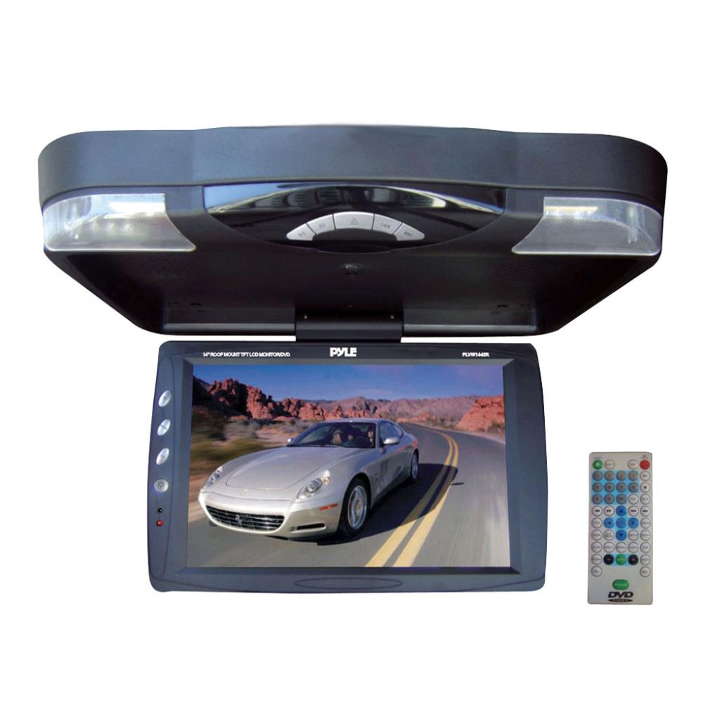 PLRD143IF pyle plrd143if on the road overhead monitors roof mount  at bakdesigns.co